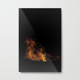 Fire Drake of the North Metal Print