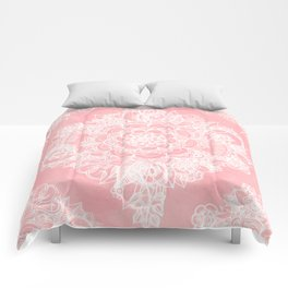 Marshmallow Lace Comforters