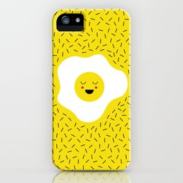 Eggs emoji iPhone Case