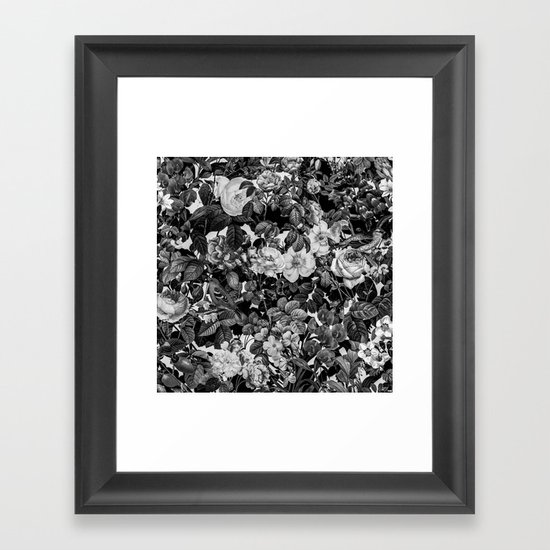 Floral Pattern II Framed Art Print