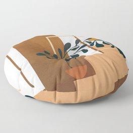 Modern Abstract Art 50 Floor Pillow
