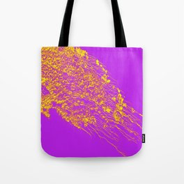 Decoration -Yallow- Lilac Tote Bag