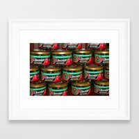 chocolate Framed Art Prints featuring chocolate by lennyfdzz
