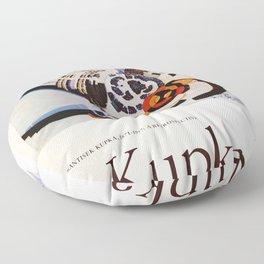 Frank Kupka Exhibition poster 1975 Floor Pillow
