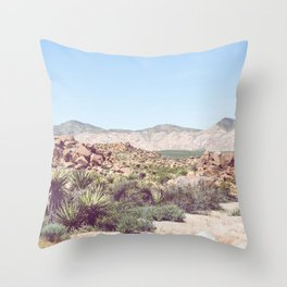 Joshua Tree, No. 2 Throw Pillow