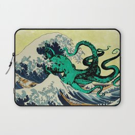 Great Octo-Wave Laptop Sleeve