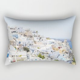 Fira, Santorini Greece Rectangular Pillow