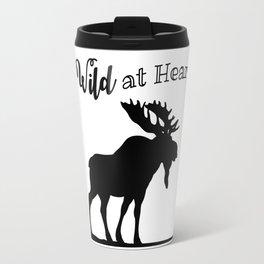 Wild at Heart-Moose Travel Mug