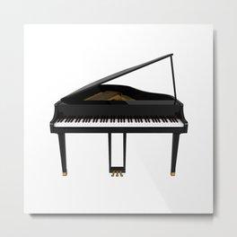 Grand Piano Metal Print