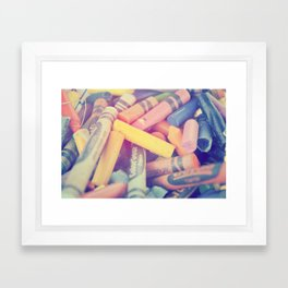 colors Framed Art Print