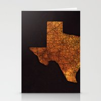 texas Stationery Cards featuring Texas by Taylor Wilson Graphics
