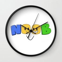 NOOB Wall Clock