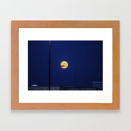 Lunar Eclipse Framed Art Print