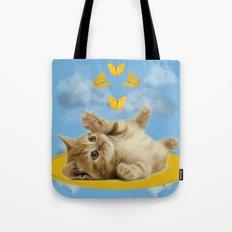 Kitty Wonder Tote Bag