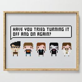 The IT Crowd Characters Serving Tray