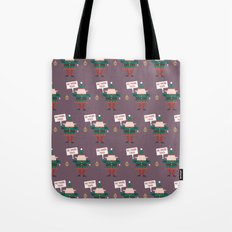 Day 23/25 Advent - Little Helpers on Strike Tote Bag