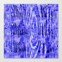 Purple Wood Print Canvas Print