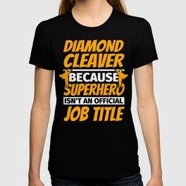 DIAMOND CLEAVER Funny Humor Gift T-shirt