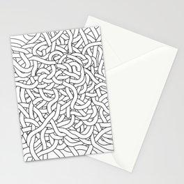 Entangled White Stationery Cards