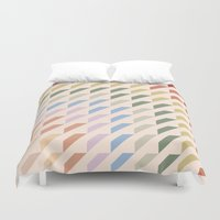geo Duvet Covers featuring geo by Disp
