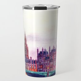 Sunset in London Travel Mug