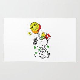 Snoopy Happy Rug