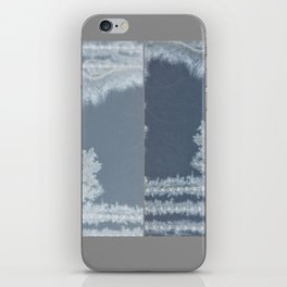 Silent character(s) iPhone Skin