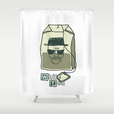 White tea Shower Curtain