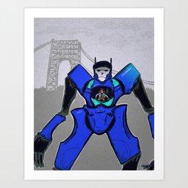 Citi Mecha Art Print