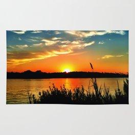 Tidewater Sunset  Rug