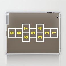 Hopscotch Brown Laptop & iPad Skin