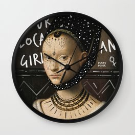 .Portrait Series | Girl Gang. Wall Clock