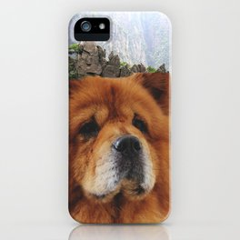 Dog Chow Chow iPhone Case