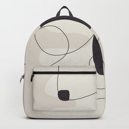 Abstract Minimal Shapes 27 Backpack