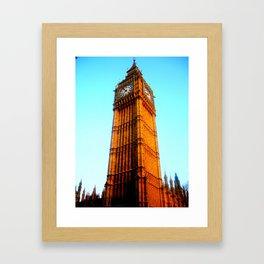 Ben looms. Framed Art Print