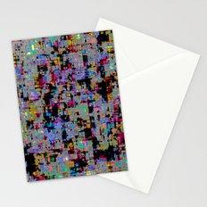 smack my glitch up Stationery Cards