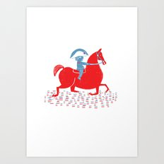 Little Napoleon Art Print