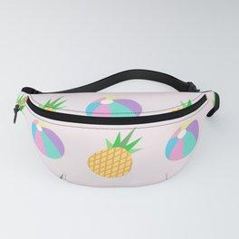 Beach Balls & Pineapples Fanny Pack