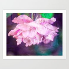 Colored Purple Art Print