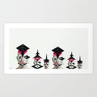 army Art Prints featuring ARMY by pitch