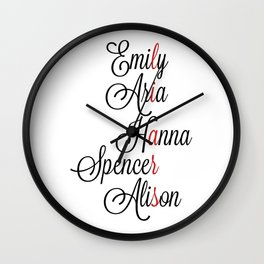Two Can Keep a Secret... Wall Clock