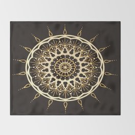Kadijah Mandala Throw Blanket