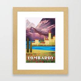 Italy Lombardy Framed Art Print