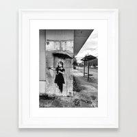 banksy Framed Art Prints featuring Banksy by Andrew Weaver | drewmaniac
