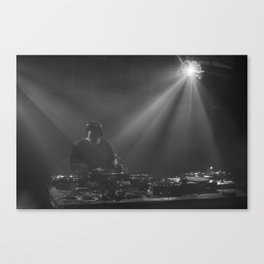 In the mix! Canvas Print