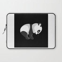 Panda Bear Gift Idea Design Motif Laptop Sleeve