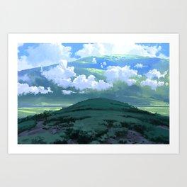 Fields of Calm Art Print