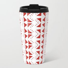 Triangles are Forever Metal Travel Mug