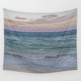 Caribbean Sunset Wall Tapestry