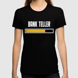 Bank Teller Installing T Shirt T-shirt